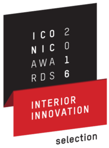 Iconic design awards interior innovation 2016 logo