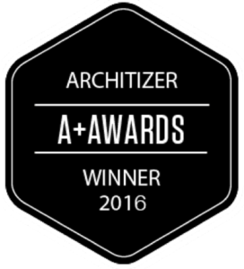 Architizer a+ awards winner 2016 logo